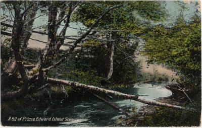 , A Bit of Prince Edward Island Scenery (2200), PEI Postcards