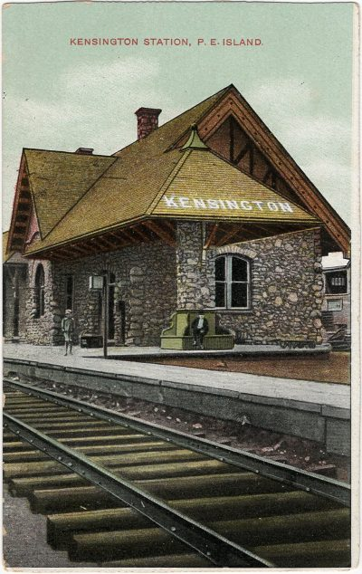 , Kensington Station, P.E. Island (2194), PEI Postcards