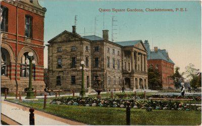 , Queen Square Gardens, Charlottetown, P.E.I. (2189), PEI Postcards
