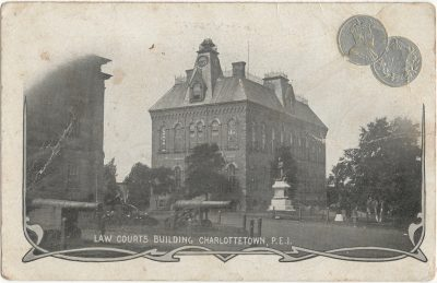, Law Courts Building Charlottetown, P.E.I. (2186), PEI Postcards