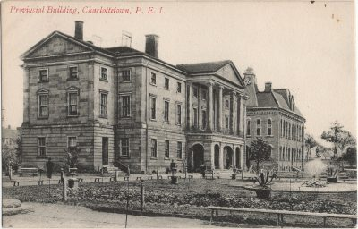 , Provincial Building, Charlottetown, P.E.I. (2184), PEI Postcards
