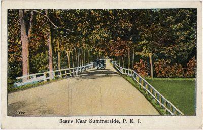 , Scene Near Summerside, P.E.I. (2179), PEI Postcards