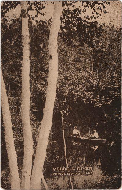 , Morrell River Prince Edward Island (2177), PEI Postcards