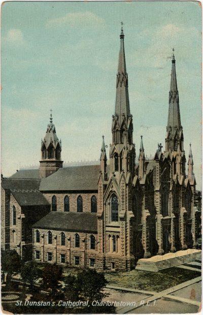 , St. Dunstan's Cathedral, Charlottetown, P.E.I. (2251), PEI Postcards