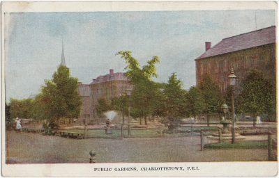 , Public Gardens, Charlottetown, P.E.I. (2172), PEI Postcards