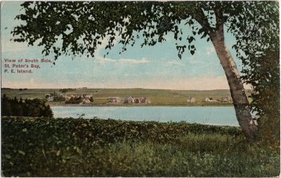 , View of South Side, St. Peter's Bay, P.E. Island. (2260), PEI Postcards