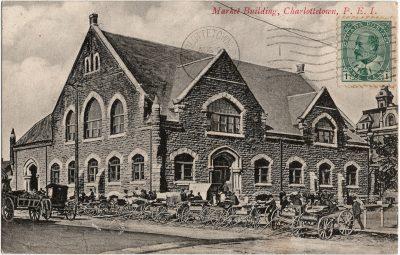 , Market Building, Charlottetown, P.E.I. (2160), PEI Postcards