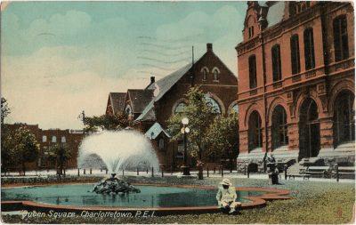 , Queen Square, Charlottetown, P.E.I. (2155), PEI Postcards