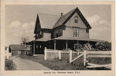 , Seaside Inn, Stanhope Beach, P.E.I. (2156), PEI Postcards