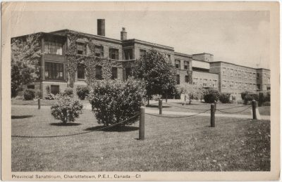, Provincial Sanatorium, Charlottetown, P.E.I., Canada. (2246), PEI Postcards