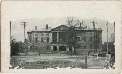 , Provincial Buildings, Charlottetown PEI (2244), PEI Postcards