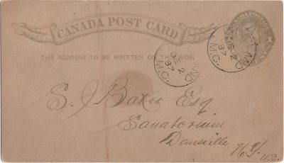 , Canada Post Card (2242), PEI Postcards
