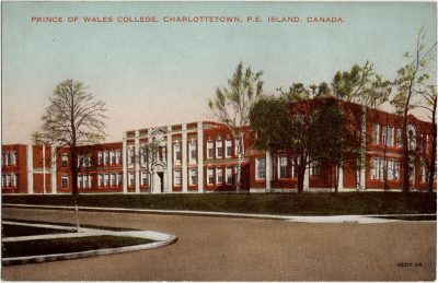 , Prince of Wales College, Charlottetown, P.E. Island, Canada. (2231), PEI Postcards