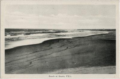 , Beach at Souris, P.E.I. (2229), PEI Postcards