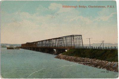 , Hillsborough Bridge, Charlottetown, P.E.I. (2223), PEI Postcards