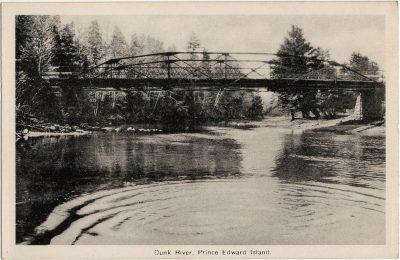 , Dunk River, Prince Edward Island. (2225), PEI Postcards