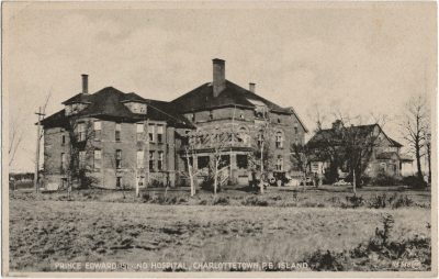 , Prince County Hospital, Summerside, P.E. Island. (2258), PEI Postcards
