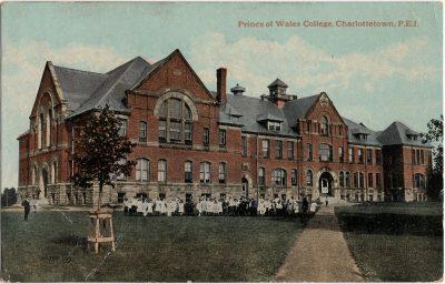 , Prince of Wales College, Charlottetown, P.E.I. (2215), PEI Postcards