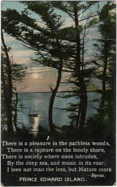 , {Byron poem} (2270), PEI Postcards