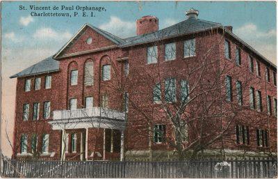 , St. Vincent de Paul Orphanage, Charlottetown, P.E.I. (2263), PEI Postcards
