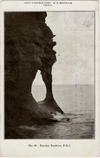 , Darnley Seashore, P.E.I. (2274), PEI Postcards