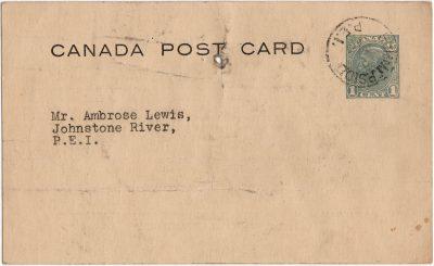 , Canada Post Card (2331), PEI Postcards