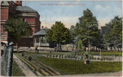 , Queen Square Gardens, Charlottetown, P.E.I. (2359), PEI Postcards