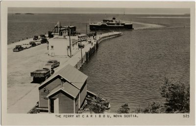 , The Ferry at Caribou, Nova Scotia. (2354), PEI Postcards