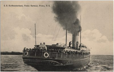 , S.S. Northumberland, Pictou Harbour, Pictou, N.S. (2357), PEI Postcards