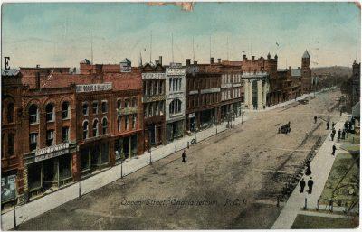 , Queen Street, Charlottetown, P.E.I. (2351), PEI Postcards