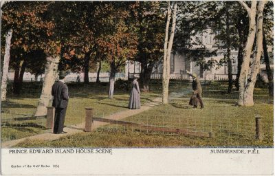 , Prince Edward Island House Scene Summerside, P.E.I. (2342), PEI Postcards