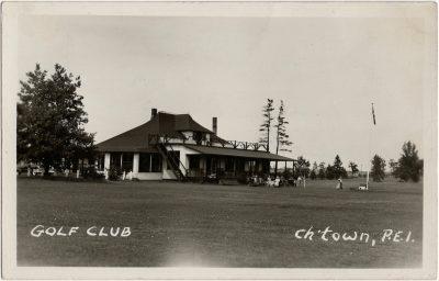 , Golf Club, Ch'town, P.E.I. (2284), PEI Postcards