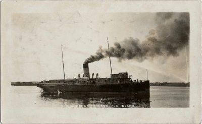 , S.S. Northumberland, P.E. Island. (2293), PEI Postcards