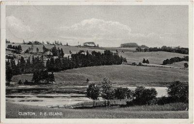 , Clinton, P.E. Island. (2294), PEI Postcards