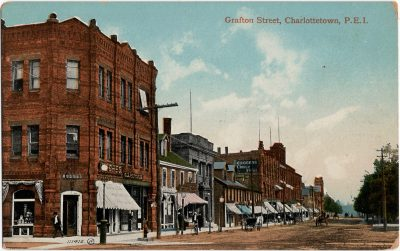 , Grafton Street, Charlottetown, P.E.I. (2298), PEI Postcards