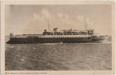 , M.V. Abegweit, Prince Edward Island, Canada. (2299), PEI Postcards