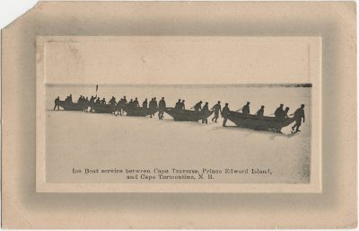 , Ice Boat service between Cape Traverse, Prince Edward Island, and Cape Tormentine, N.B. (2301), PEI Postcards
