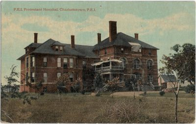 , P.E.I. Protestant Hospital, Charlottetown, P.E.I. (2302), PEI Postcards