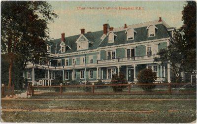 , Charlottetown Catholic Hospital, P.E.I. (2303), PEI Postcards