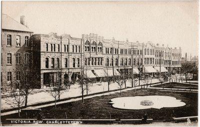 , Victoria Row, Charlottetown (2309), PEI Postcards