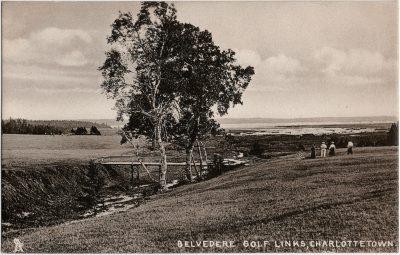 , Belvedere Golf Links, Charlottetown (2307), PEI Postcards