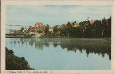 , Montague, Prince Edward Island, Canada. (2314), PEI Postcards