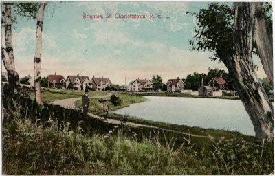 , Brighton St., Charlottetown, P.E.I. (2319), PEI Postcards