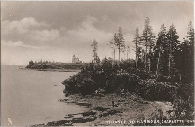 , Entrance to Harbour, Charlottetown (2320), PEI Postcards