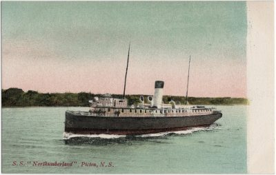 ", S.S. ""Northumberland"", Pictou, N.S. (2369), PEI Postcards"