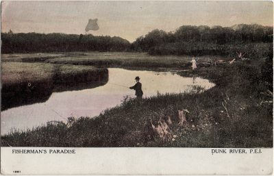 , Fisherman's Paradise Dunk River, P.E.I. (2375), PEI Postcards