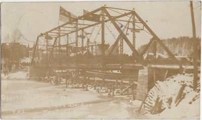 , Official Opening Montague Steel Bridge P.E.I. Jany 10th / 13 (2376), PEI Postcards