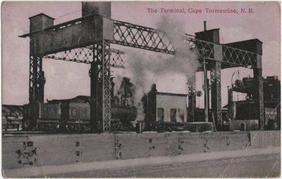 , The Terminal, Cape Tormentine, N.B. (2372), PEI Postcards