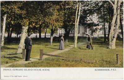 , Prince Edward Island House Scene Summerside, P.E.I. (2381), PEI Postcards