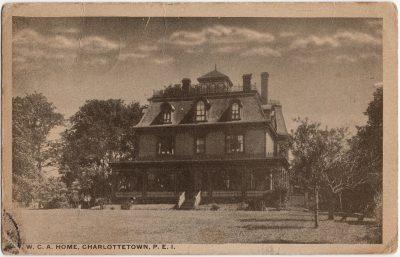 , Y.W.C.A. Home Charlottetown, P.E.I. (2386), PEI Postcards